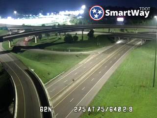 Knoxville, TN I-275 TDOT Cameras